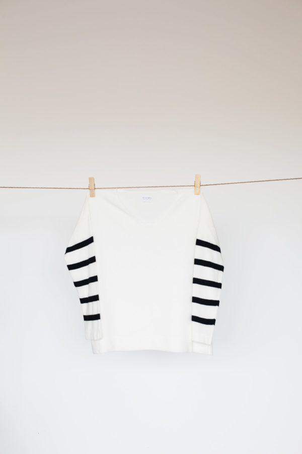Jersey Sar Blanco con rayas