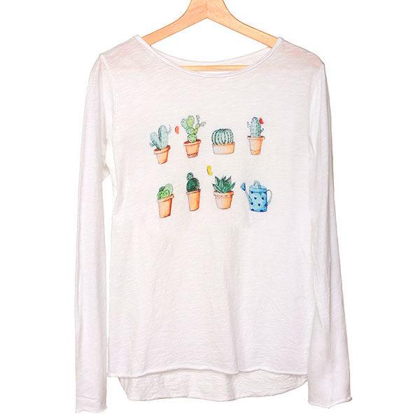 camiseta-algodon-estampada-cactus