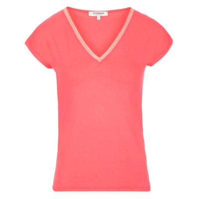 camiseta-manga-corta-coral
