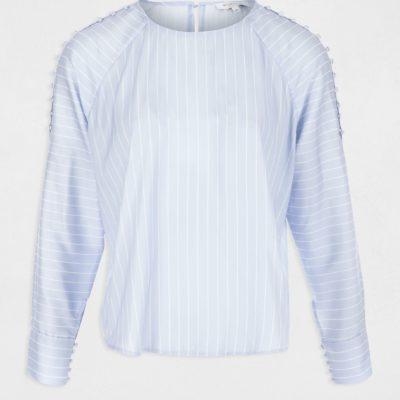 otel-camisa-rayas-azul-morgan-2