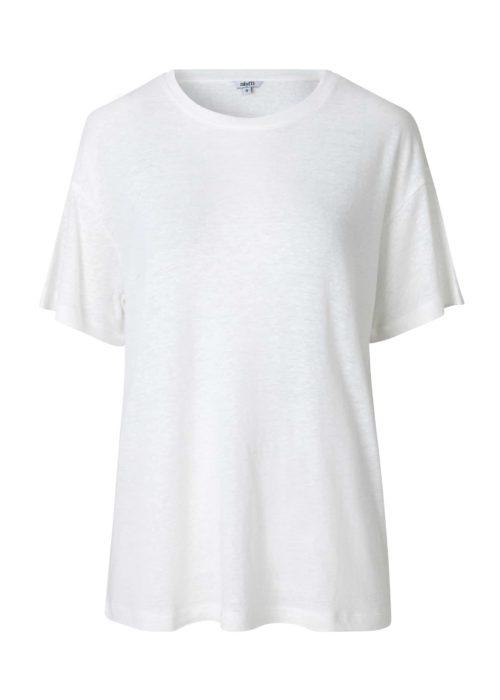 Camiseta blanca holgada manga corta mbyM