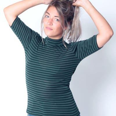 Camiseta-rayas-verde-negras-mbym